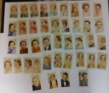 GALLAHER STARS OF SCREEN AND STAGE PART SET SPARES 41 CARDS IN TOTAL ISD 1935