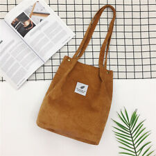 Bags Women Corduroy Shoulder Shopping Bag Tote Package Crossbody Satchel Handbag