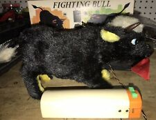 Vintage 1960's Fighting Bull Battery Powered Remote Control by Alps