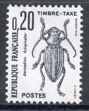 STAMP / TIMBRE FRANCE t TAXE 104 *** , Insectes Dorcadion