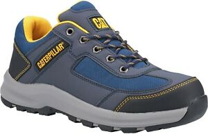 Caterpillar CAT Elmore Lo S1P navy steel toe/midsole work safety trainer shoes