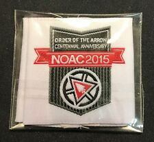 ORDER OF THE ARROW OA 100TH CENTENNIAL ANN NOAC 2015 SHOULDER LOOPS EPAULETTES!