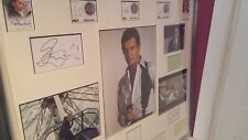 James bond roger moore a view to a kill genuine hand signed display