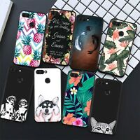 For HUAWEI P8 P9 P10 Mate10 Lite P20 Pro Soft Silicon Cartoon Cover Case Cat Dog