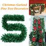 2.7M Christmas Decor Useful Ornaments Xmas Tree Garland Rattan Home Decor RW