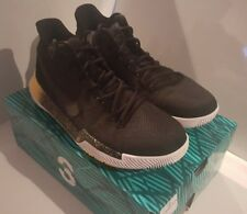 Nike Kyrie 3 Black and Yellow Size 11 Free Shipping