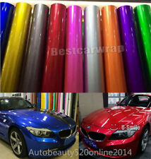 Car Styling - Ultra Candy Glossy Metallic Vehicle Wrap Foil Vinyl Bubble Free