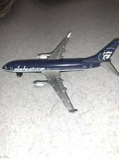 alaska airlines 737 boeing diecast lairplane matchbox mattel