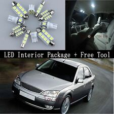 New White Auto Light Interior Package 11x for FORD MONDEO MK 3 00-2007 + TOOL YA