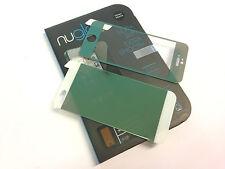 Nuglas Verde parte delantera + posterior de color Protector de Pantalla de Vidrio Templado para iPhone 5