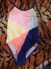 Cotton On Kids Libby Low Back Swim Suit Sz 1 Bnwt Free Post (e46)