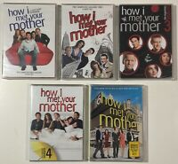 How I Met Your Mother Seasons 1-4 and 6 DVD 15 Discs Set - New Factory Sealed