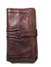 Comptoir Des Cotonniers Leather Wallet Dark Brown