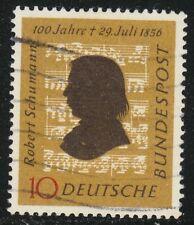 Germany 1956 VFU Mi 234 Sc 743 Robert Schumann, composer