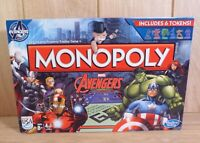 Monopoly Marvel Avengers Hasbro Gaming Board Game - Complete Great Condition