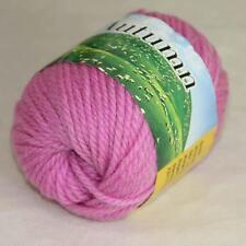 Sale 1 Ball 50g Soft Waem Chunky Thick Wool Hand Knitting Yarn Iris pink 248-204