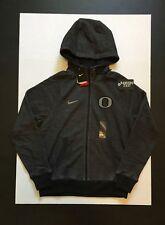 Nike Oregon Ducks  Football KO Fleece Hoodie Black Heather Mens Size L