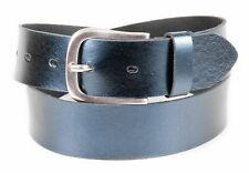 Tamaris Leather Belt W85 Gürtel Accessoire Navy Blau Neu