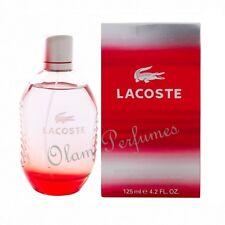 Lacoste Red Style In Play Men Eau De Toilette Spray 4.2oz 125ml * New in Box