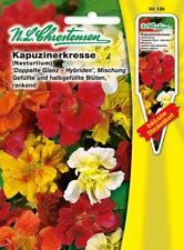 Kapuzinerkresse,Glanz Mischung,Saatgut,Tropaeolum majus,Blumen,Chrestensen,SG