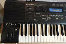 Casio HT-6000 Synthesizer! Top Zustand + Original-Zubehör SELTEN!