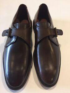 Allen Edmonds 12 D Single Monk Strap Shell Cordovan Horween Leather GoodyearWelt