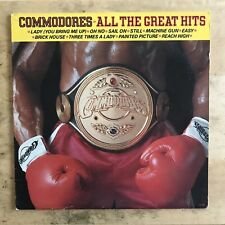 Commodores All The Great Hits 1982 Vinyl LP Motown Records 6028ML