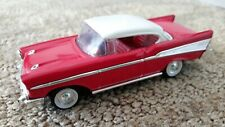 1957 Chevy Bel Air ROAD SIGNATURE Hard Top Car Red White 1:43 Die Cast no. 94201