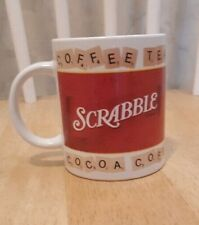 Scrabble Coffee Mug Cup 2002 Hasbro Coffee Tea Cocoa GUC