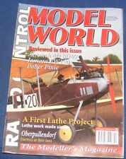 RADIO CONTROL MODEL WORLD MAGAZINE OCTOBER 1995 - AEROTECH ME BF109