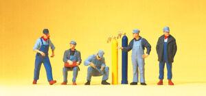 "PREISER 10535 Gauge H0 Figurines "" US Railway Personnel "" # New IN Boxed ##"