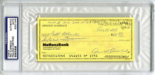 Arnold Red Auerbach SIGNED/ENCAPSULATED CHECK Boston Celtics PSA/DNA AUTOGRAPHED