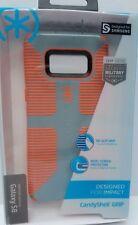 Orange & Gray Hybrid Case for Samsung Galaxy S8 - Speck Candyshell Shockproof US