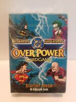 OVERPOWER Batman Superman DC Starter Deck 69 Collectible Playing Cards NEW SEAL