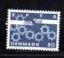 DENMARK #431  1967  EFTA  MINT  VF NH  O.G  e