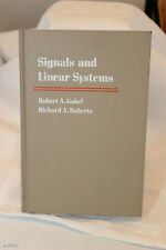Signals and Linear Systems,  Richard A. Roberts, Robert A. Gabel 1973, Hardcover