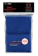 ULTRA PRO Deck Protector - Standard 100 count Blue (Trading Card Sleeves) NEW