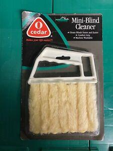 O Cedar Mini Blind Cleaner NOS 1997