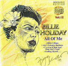 "Billie Holiday ""All of Me"" Top Blues! CD NUOVO & OVP Cosmus DSB 13 tracks"