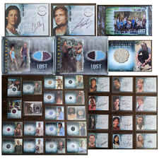 Inkworks Lost Trading Cards Autographs & Pieceworks Authentic Various - You Pick