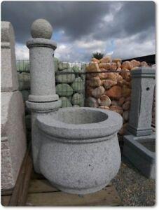 Granitbrunnen mit Kugel Brunnen Granitbrunnen Zierbrunnen Natursteinbrunnen