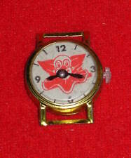 Vintage Bozo The Clown Toy Plastic Watch Made In Japan