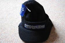 System of a Down Facturado Beanie Gorro Gorra de logotipo bordado Soad Serj Tankian BNWT