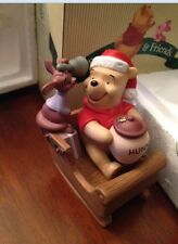 Pooh & Friends, A Sleigh Full of Presents Hearts Full of Love Figurine