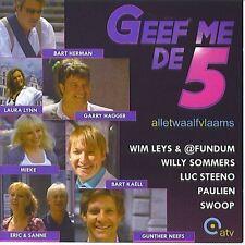 Geef me de 5 : Alle twaalf Vlaams (CD)