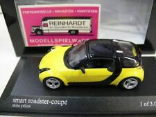 1/43 Minichamps Smart Roadster Coupe 2003 gelb