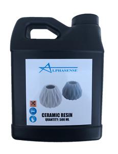 ALPHASENSE 3D DLP/SLA CERAMIC RESIN (500 mL)