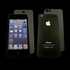 iPHONE 5 5S Schutzfolie matt Schutz Folie 3x Display Vorne 3x Rückseite 6 Stück