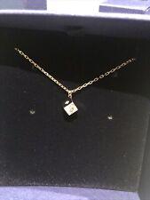 Authentic Swarovski Crystal Necklace Pendant Dice Bnib 5523560