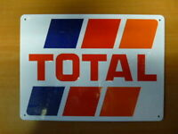 PB103N PLAQUES PUBLICITAIRE tolée age d'or de l'Automobile n°56 22*30cm TOTAL